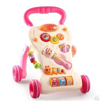 维莱 婴儿调速音乐手推学步车1-2岁宝宝助步车多功能学走路防侧翻 2303公主版