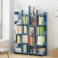 【领券到手价105元】简易书架置物架落地客厅储物架简约现代组装多功能省空间组合书柜