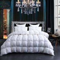 羽绒被95白鹅绒被芯加厚保暖双人冬被五星酒店被子单人床被芯