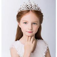 新款时尚儿童皇冠发箍 女童公主冠头箍宝宝生日演出头饰发夹