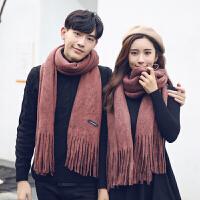 围巾女冬季韩版学生百搭披肩两用春秋冬天加厚保暖长款针织情侣款