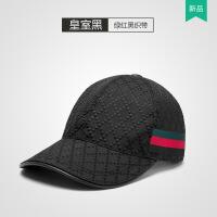 №【2019新款】冬天带的新款高档格纹情侣帽子黑色棒球帽男女士鸭舌帽户外遮阳帽