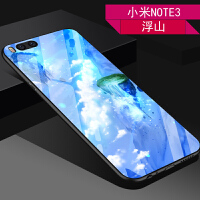 小米NOTE3手机壳max3玻璃壳MAX2软硅胶MAX防摔套二次元插画男女款