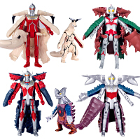 泰罗奥特曼玩具变形怪兽艾斯宇宙赛文套装男孩蛋