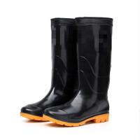 雨鞋男中筒秋冬雨鞋防滑加厚耐磨水鞋男户外雨靴 钓鱼鞋