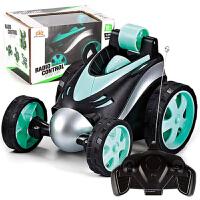 儿童可漂移赛车男孩四驱越野电动遥控车玩具 特技汽车翻滚翻斗车