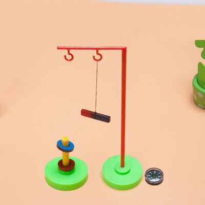 儿童科学实验玩教具 小学生科技小制作磁悬浮指南针磁铁