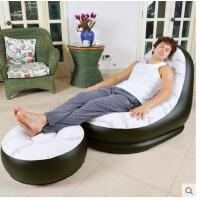 充气沙发床 单人懒人躺椅子 小休闲双人气垫沙发凳子简易