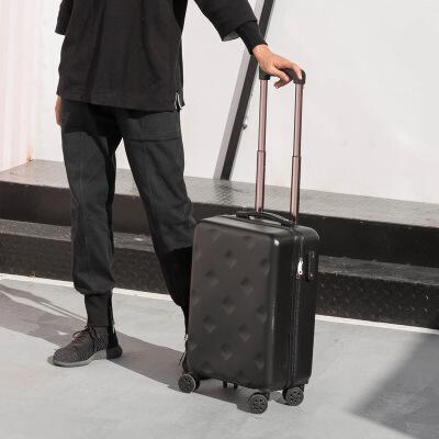 韩版行李箱旅行箱24寸万向轮拉杆箱包小清新男女旅游箱子22皮箱20 黑色 1701 发货周期:一般在付款后2-90天左右发货,具体发货时间请以与客服协商的时间为准