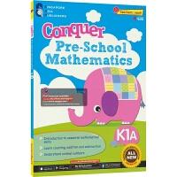SAP Conquer Pre-School Mathematics K1A 攻克系列学前数学 幼儿园小班教辅 练习册