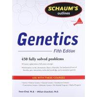英文原版 遗传学 第5版 Schaum's Outline of Genetics, Fifth Edition
