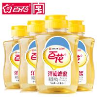 中华老字号 百花牌 洋槐蜂蜜415g*4瓶