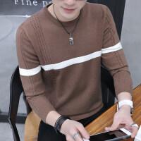 冬季毛衣男装韩版男士圆领修身外套男针织打底衫潮流秋季加绒加厚 3