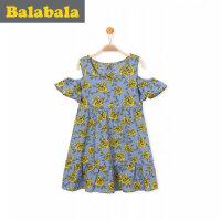 【3折�r:53.7】巴拉巴拉童�b女�和�公主裙女童�B衣裙女孩新款小童����裙子夏