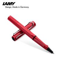 德国LAMY凌美笔safari狩猎者法拉利红签字笔 凌美宝珠笔 水笔 学生商务签字笔 凌美签字笔礼品 书写顺畅流利 秘