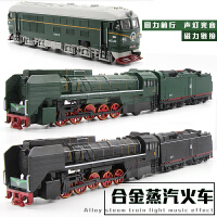 仿真火车模型 儿童合金车玩具金属东风火车头/内燃机车 合金