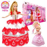 雪莉女孩 娃娃配件儿童玩具礼盒套装S800781