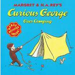 【预订】Curious George Goes Camping 9780395978351