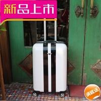 韩版个性行李箱男寸学生潮复古拉杆箱万向轮女登机箱旅行箱皮箱