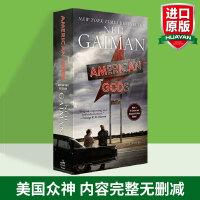 美国众神 英文原版American Gods尼尔盖曼 美剧封面版 英文原版小说华研原版