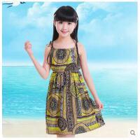 韩版儿童连衣裙女童公主吊带裙子 大童装女孩沙滩裙儿童裙子装支持礼品卡支付