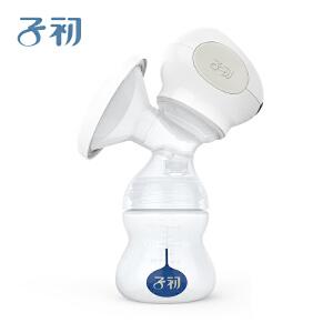 子初吸奶器电动产后哺乳孕产妇挤奶器集奶器硅胶轻畅母乳吸乳器 一体式