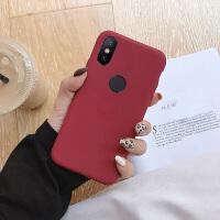 小米红米note5手机壳超薄note5pro男款磨砂纯色保护套红米s2防摔全包边新款简约情侣红色个性