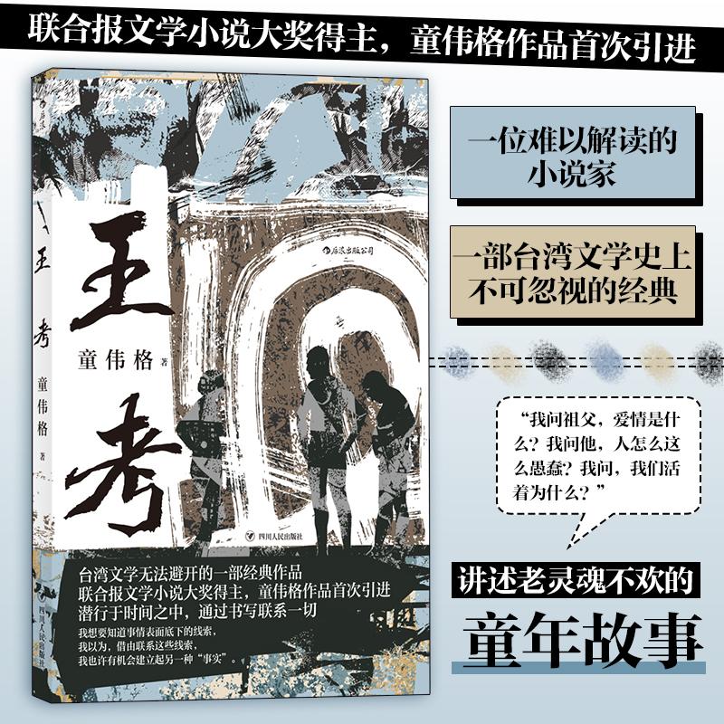 王考 豆瓣评分9.1,一位难以解读的小说家 一部台湾文学史上不可忽视的经典 联合报文学小说大奖得主,童伟格作品首次引进