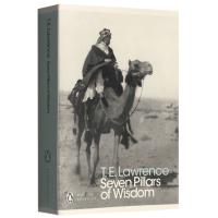 Seven Pillars of Wisdom 智慧七柱 英文原版 企鹅经典 阿拉伯的劳伦斯电影原著小说 T.E. La
