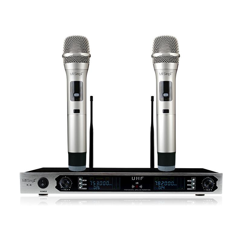 K6 电视电脑k歌 U段调频无线话筒麦克风 ktv套装乐视 发货周期:一般在付款后2-90天左右发货,具体发货时间请以与客服协商的时间为准