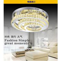 雷士照明 LED水晶吸顶灯 简约现代时尚吸顶灯客厅灯卧室餐厅灯具