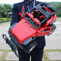 超大�b控�悍�R越野�充�漂移��模型男孩�_�T�和�攀爬玩具汽�六一��Y物
