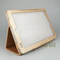 先科F160保护套F333皮套10.1英寸H2学生平板电脑 H11防摔外壳贴膜 金色+钢化膜 收藏送6赠品