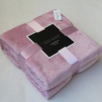 法兰绒毛毯被子天双人珊瑚绒毯子薄款空调毯毛巾被盖毯