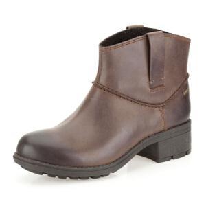 Clarks/其乐女鞋2017秋冬新款真皮防水时尚休闲短靴Mansi Drew GTX专柜正品直邮