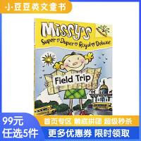 进口英文原版米西超豪华系列#4 FIELD TRIP 实地考察旅行【5-10岁】