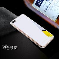 苹果4手机壳iPhone4s手机套ipone4简约pg4平果4s镜面软壳A1387轻薄A1332防摔