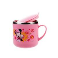 儿童水杯带盖创意水杯子卡通宝宝口杯手柄牛奶杯