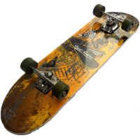 初级滑板 大号四轮双翘滑板 成人长滑板 枫木公路板
