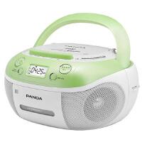 熊猫(PANDA) CD-860 手提式DVD播放机复读机CD机磁带U盘MP3录音机收录机 绿色