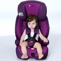 【当当自营】英国zazababy 儿童安全座椅9月-12岁isofix硬接口 高贵紫 Za-2180Pro