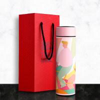 【好货优选】马卡龙保温杯智能女士便携个性网红显示温度的304不锈钢水杯子男