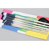 画笔专卖 马利牌圆峰尼龙丙烯画笔G1626/ 套装画笔油画笔 颜料水粉笔/6支