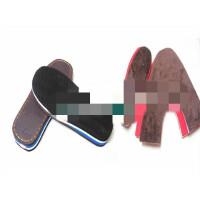 手工棉鞋 拖鞋材料 半成品 防滑麦穗鞋底+海绵