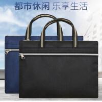 斯莫尔新款男包手提包电脑包男士商务包文件袋公文袋资料袋会议包