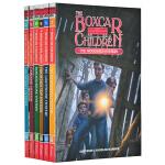 英文原版小说 The Boxcar Children Mysteries (Book7-12) 棚车少年 6册合售