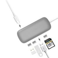苹果MacbookPro扩展坞type-c转Hdmi转换器笔记本USB集线器华为配件
