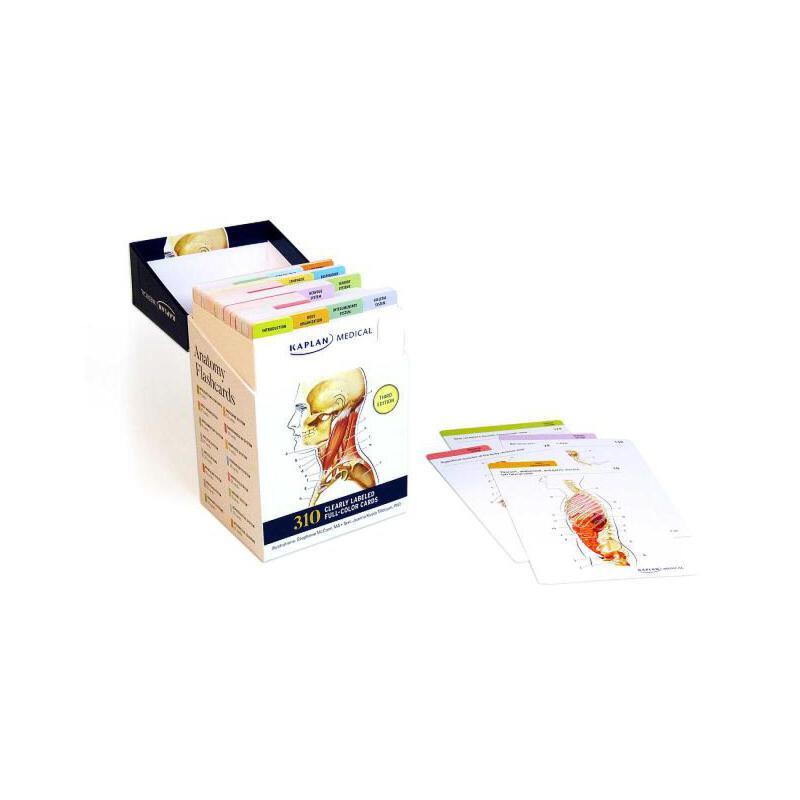【预订】Anatomy Flashcards 预订商品,需要1-3个月发货,非质量问题不接受退换货。