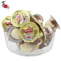 喜之郎 开心时间巧克杯 1500g 散装 代可可脂巧克力饼干零食 新年年货