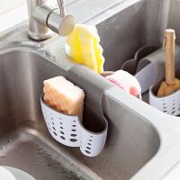 沥水篮 厨房马鞍式水槽沥水篮收纳篮杂物收纳挂篮挂袋海绵架洗碗擦沥水袋